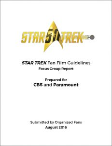 Focus Group Report framed